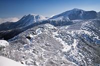 大分県 三俣山と星生山