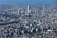 東京都 池袋サンシャイン 街並み