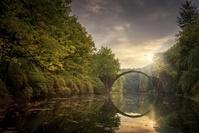 ドイツ クロムロー 悪魔の橋