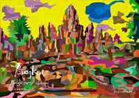 世界遺産アート カンボジア アンコールの遺跡群