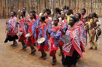 スワジランド マンテンガ自然保護区 スワジ文化村