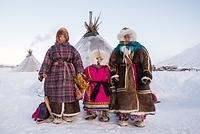 ロシア ネネツ族の家族