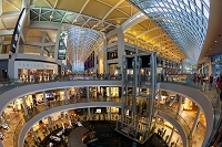 シンガポール マリーナベイサンズ ショッピングモール