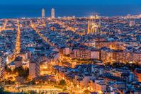 スペイン バルセロナ俯瞰