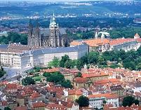 プラハ城と市街