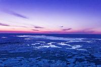 北海道 動き始めた流氷