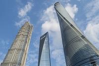 中国 浦東新区の高層ビル