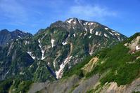 長野県 北アルプス・八方尾根から五竜岳望む