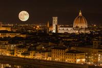 イタリア フィレンツェの街並み