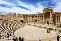 パルミラ遺跡 円形劇場 パルミラ シリア