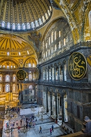 トルコ イスタンブール アヤソフィア イスラム教の文字盤