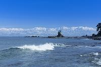 富山県 雨晴海岸と立山連峰