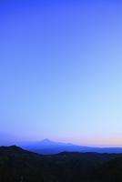 秋田県 由利本庄市 鳥海山 夕景