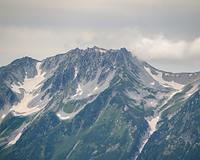 五竜岳山頂から見る立山