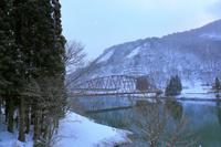 福島県 大沼郡 金山町 奥会津 雪景色