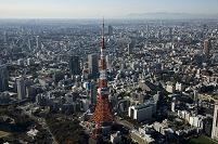東京都 東京タワー周辺より恵比寿方面