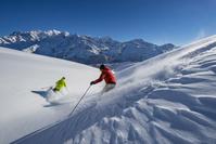 フランス アルプス スキー