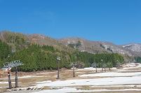 長野県 春の野沢温泉スキー場