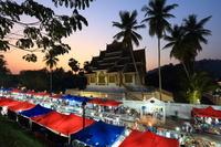 ラオス ナイトマーケット