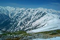 長野県 爺ヶ岳より後立山連峰