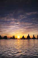 和歌山県 橋杭岩の日の出