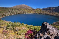 鹿児島県 大浪池と韓国岳