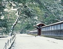 石川県 雪の成巽閣