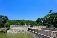 大阪府 大仙陵古墳 拝所