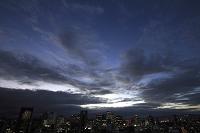 大阪府 大阪市内の雨雲 梅田