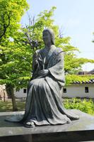 京都府 勝竜寺城の玉(ガラシャ)像