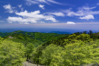 奈良県 大台ヶ原より熊野灘を望む