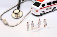 フィギュア 救急車で運ばれる患者