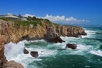 和歌山県 波と三段壁