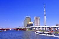 東京都 隅田川と東京スカイツリー