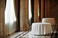 白いテーブルクロス