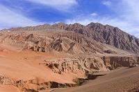 中国 シルクロード トルファン 吐峪溝大峡谷