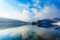 広島県 冬の土師ダム
