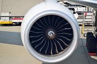 NRT KOREAN AIR B777-300ER engine