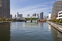 東京の水門 豊洲水門