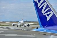 カナダ バンクーバー空港 ANA & JAL