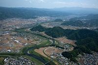 静岡県 狩野川(太平周辺より伊豆の国市方面)