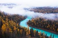中国 ハナス湖