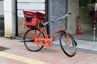 東京都 郵便配達の自転車