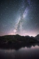 長野県 天の川 八方池