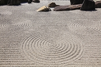 日本 京都府 東福寺本坊庭園 南庭の枯山水