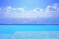 モルディブ プールサイド