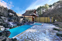 福島県 初秋の高湯温泉天渓の湯