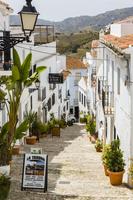スペイン フリヒリアナ 白い街並み