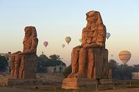 エジプト ルクソール メムノンの巨像