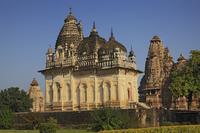 インド カジュラーホ プラター・ペーソル寺院(後期の寺院 異...